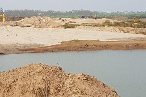 Hà Nội: Khai thác trái phép khoáng sản ở Mê Linh, chính quyền chậm xử lý