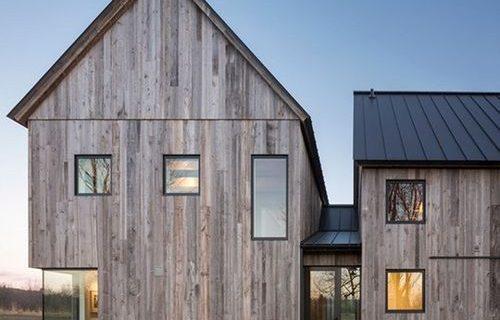 Ngôi nhà gỗ được xây dựng để bảo tồn đất đai