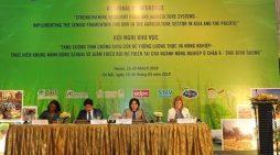 Cải thiện phương án thích ứng biến đổi khí hậu đối với ngành nông nghiệp