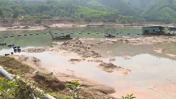 Quảng Nam: Truy quét nạn khai thác khoáng sản trái phép ở huyện Phú Ninh