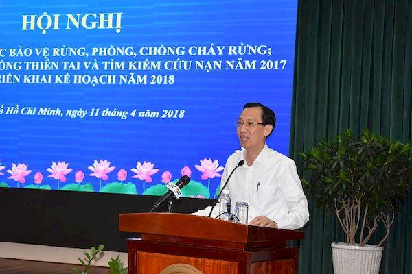 TP Hồ Chí Minh tăng cường công tác bảo vệ rừng, PCCC rừng