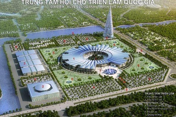 Hà Nội: Điều chỉnh cục bộ quy hoạch để đáp ứng yêu cầu xây dựng Trung tâm Hội chợ triển lãm quốc gia