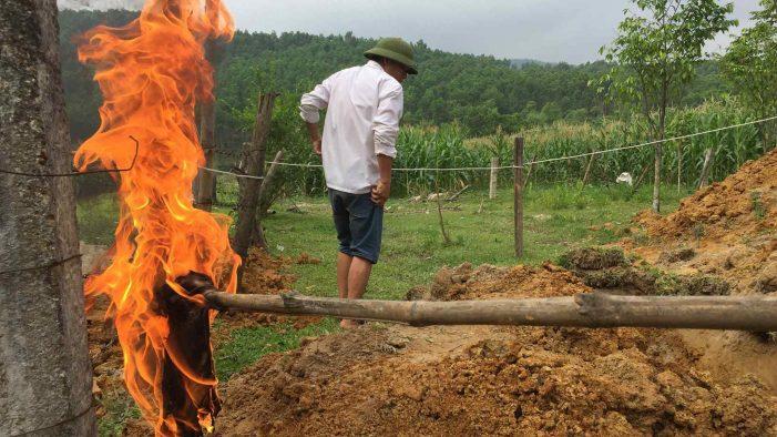 Hà Tĩnh: Nước giếng bốc cháy: Doanh nghiệp bất ngờ nhận trách nhiệm