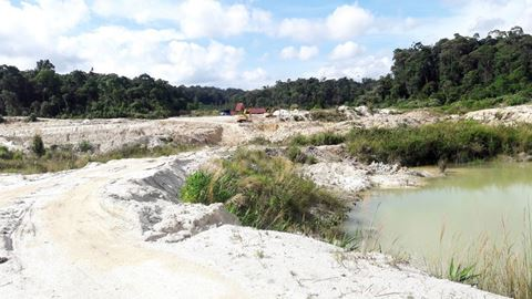Môi trường bị ảnh hưởng nghiêm trọng do khai mỏ