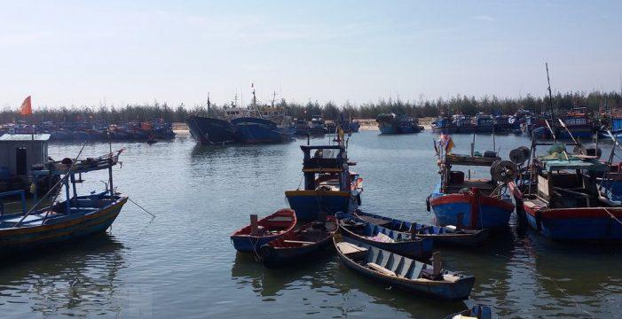Cảng cá bị bồi lấp, hàng loạt tàu thuyền phải nằm bờ