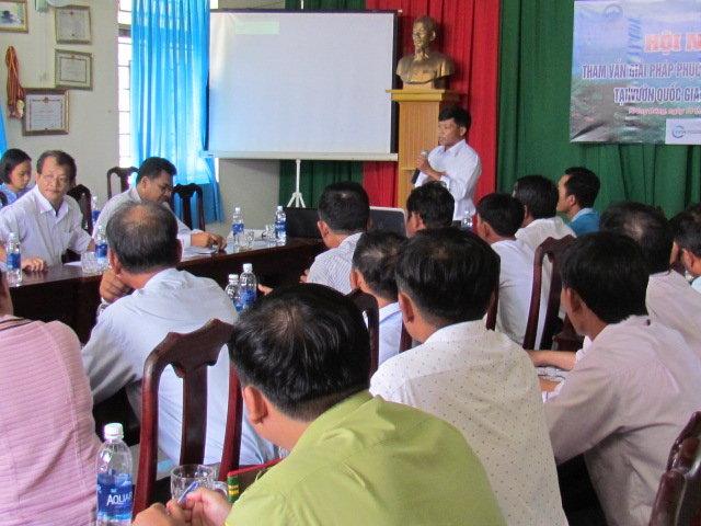Tham vấn giải pháp phục hồi cảnh quan rừng tại VQG Chư Yang Sin