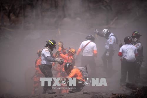Núi lửa phun trào ở Guatemala: Tạm dừng công tác cứu hộ