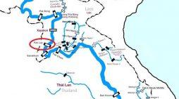 Lào thông báo kế hoạch xây đập thứ tư trên dòng chính sông Mê Công