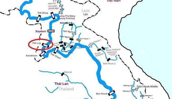 Pak Lay cần rút kinh nghiệm từ các đập đang được xây dựng trên dòng chính Mê Kông