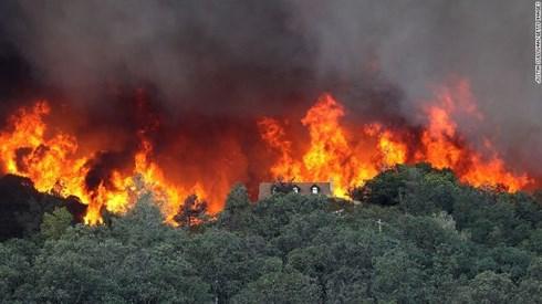 Gia tăng lượng khí phát thải từ những đám cháy rừng dữ dội