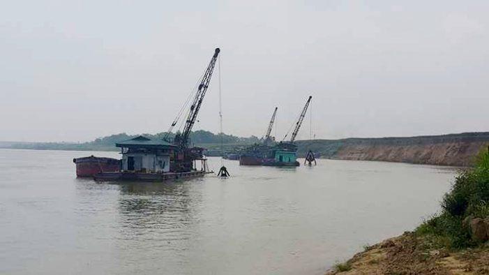Hạn chế khai thác cát tự nhiên tại địa bàn tỉnh Phú Thọ