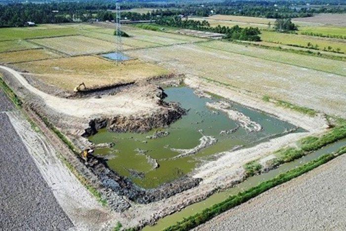 Cà Mau phạt nặng doanh nghiệp khai thác đất mặt trái phép