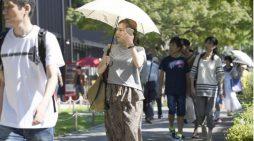 Sau lũ lụt, Nhật Bản lại hứng chịu đợt nắng nóng kỷ lục tại nhiều tỉnh