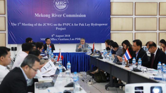 Quy trình tham vấn trước dự án đập Pak Lay bắt đầu từ 8/8/2018