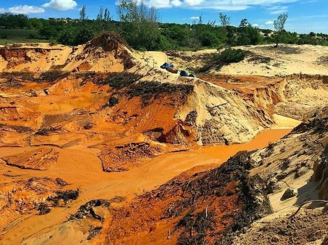Bình Thuận xin đưa 20.000 ha ven biển khỏi khu dự trữ titan