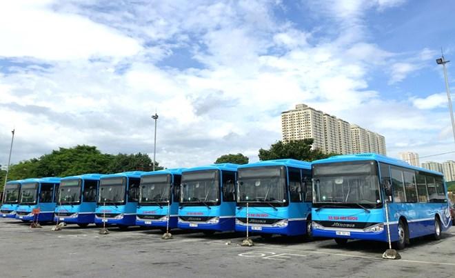 Hà Nội thay thế hàng loạt xe buýt mới chất lượng cao, wifi miễn phí