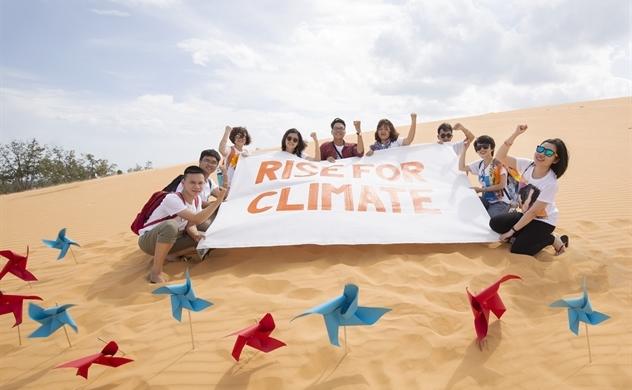 """Ra mắt MV """"Rise for climate"""" hưởng ứng phong trào toàn cầu về khí hậu"""