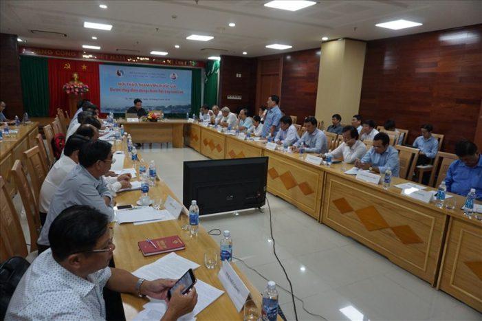 Tham vấn về dự án thủy điện Pak Lay của Lào trên dòng chính Mê Công