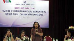 300 nhà khoa học nữ châu Á – TBD trao đổi kinh nghiệm tại Việt Nam