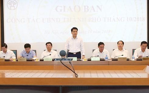 Chủ tịch Hà Nội: Phải xử nghiêm vi phạm xây dựng trên đất rừng Sóc Sơn