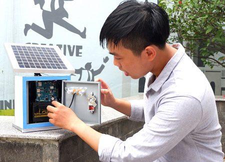 Sinh viên sáng chế hệ thống giám sát, cảnh báo ô nhiễm không khí
