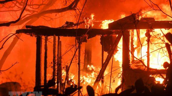 """Các đám cháy rừng lan rộng, California chìm trong """"biển lửa"""""""
