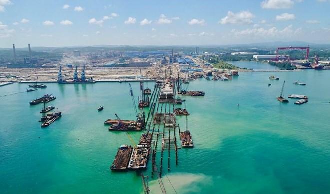 Thép Hòa Phát Dung Quất xin nhận chìm hơn 15 triệu m3 vật chất