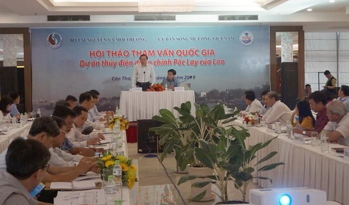 Xem xét tác động của thủy điện Pắk Lay đến dòng chảy sông Mê Công