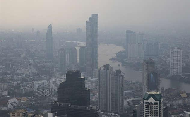 Châu Á báo động tình trạng khói lẫn sương