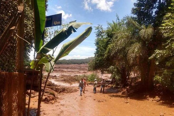 Brazil: Vỡ đập hồ chứa nước thải, ít nhất 200 người mất tích