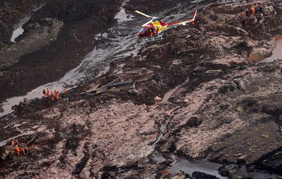 9 người thiệt mạng, hơn 300 người mất tích do vỡ đập hồ chứa chất thải tại Brazil