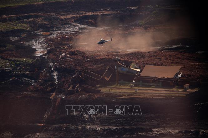 Vụ vỡ đập tại Brazil: Khó hy vọng còn người sống sót