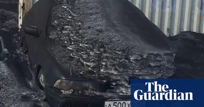 Tuyết đen độc hại bao phủ vùng than Siberia