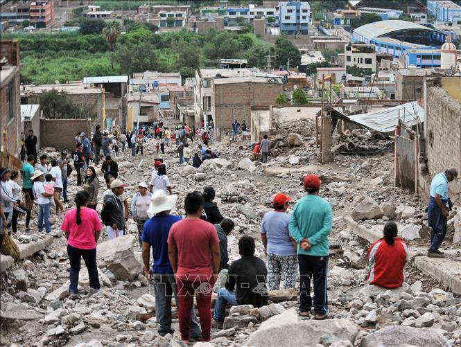 6 người thiệt mạng trong trại khai thác mỏ do sạt lở đất
