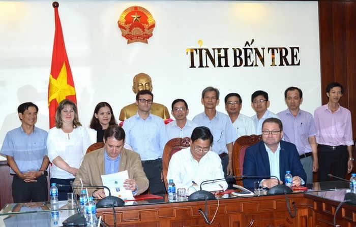 Bến Tre: Thoản thuận hợp tác phát triển bền vững với Rumani