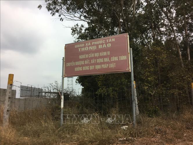 Hàng trăm doanh nghiệp xây dựng trái phép trên đất rừng, nông nghiệp ở Đồng Nai