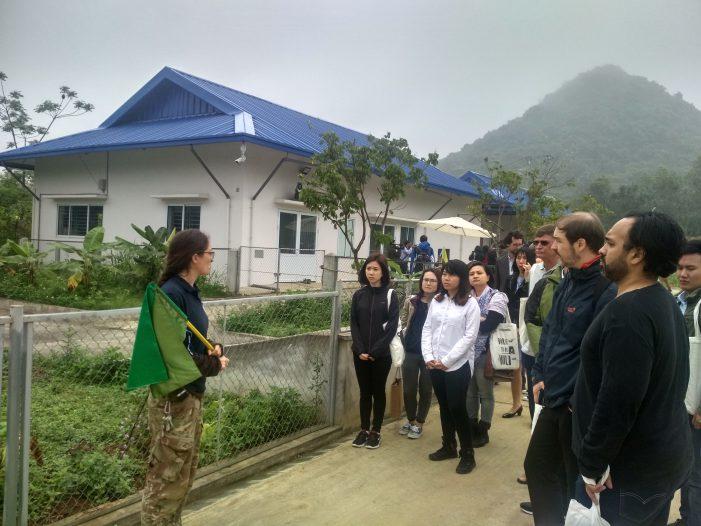 Khánh thành giai đoạn 1 cơ sở bảo tồn gấu tại Ninh Bình