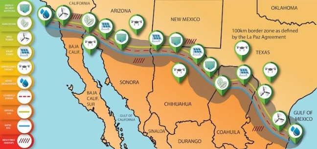 Đề án xây dựng công viên năng lượng trên biên giới Mỹ – Mexico