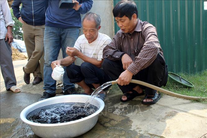 Hàng trăm hộ dân ven sông Mã thiếu nước sinh hoạt