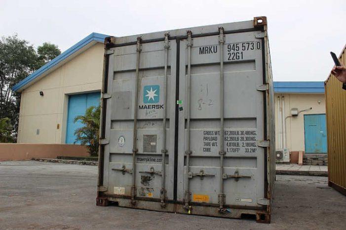 Khó xử lý các container chứa hàng cấm tại Hải Phòng vì hãng tàu Maersk Line?