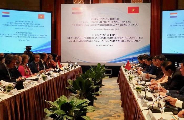 Việt Nam – Hà Lan bàn giải pháp thích ứng với biến đổi khí hậu và quản lý nước