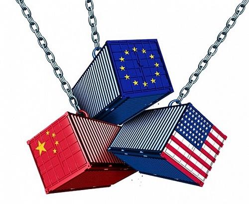 Quan hệ kinh tế EU với Mỹ và Trung Quốc: Trước nga ba đường