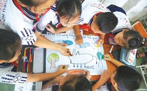 Trẻ em bảo vệ tương lai