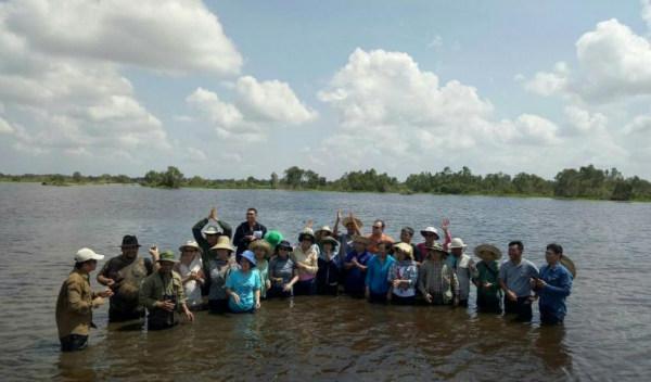 Tập huấn về quản lý đất ngập nước cho cán bộ Khu bảo tồn