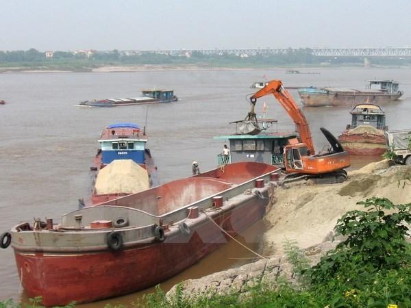 Hà Nội đấu giá quyền khai thác khoáng sản cát