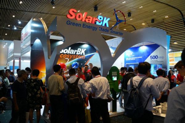 """SolarBK tham gia Hội nghị quốc tế lớn nhất Việt Nam về năng lượng sạch, """"chốt"""" gần 20 đơn hàng"""