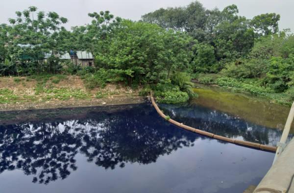Tại phường Dương Nội (Hà Đông): Các cơ sở dệt, nhuộm gây ô nhiễm
