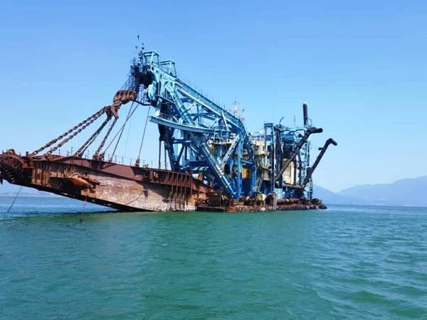 Tìm giải pháp tối ưu thay thế nhận chìm vật chất nạo vét biển Dung Quất
