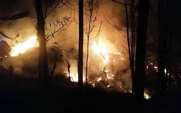 Liên tiếp xảy ra cháy rừng tại Quảng Ngãi
