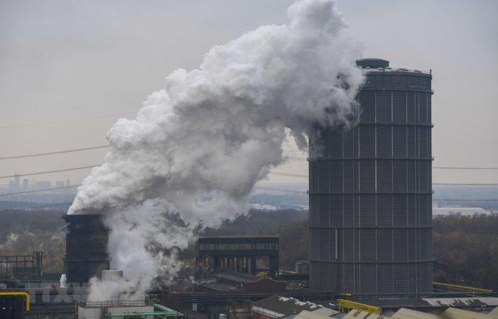 Lượng khí thải carbon tại Liên minh châu Âu giảm trong 2018